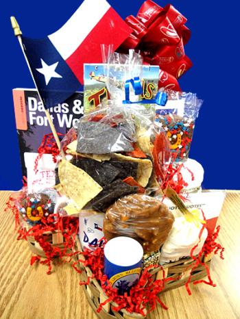 All About Texas Gift Basket
