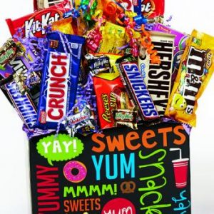 Candy Bouquet Gift Baskets