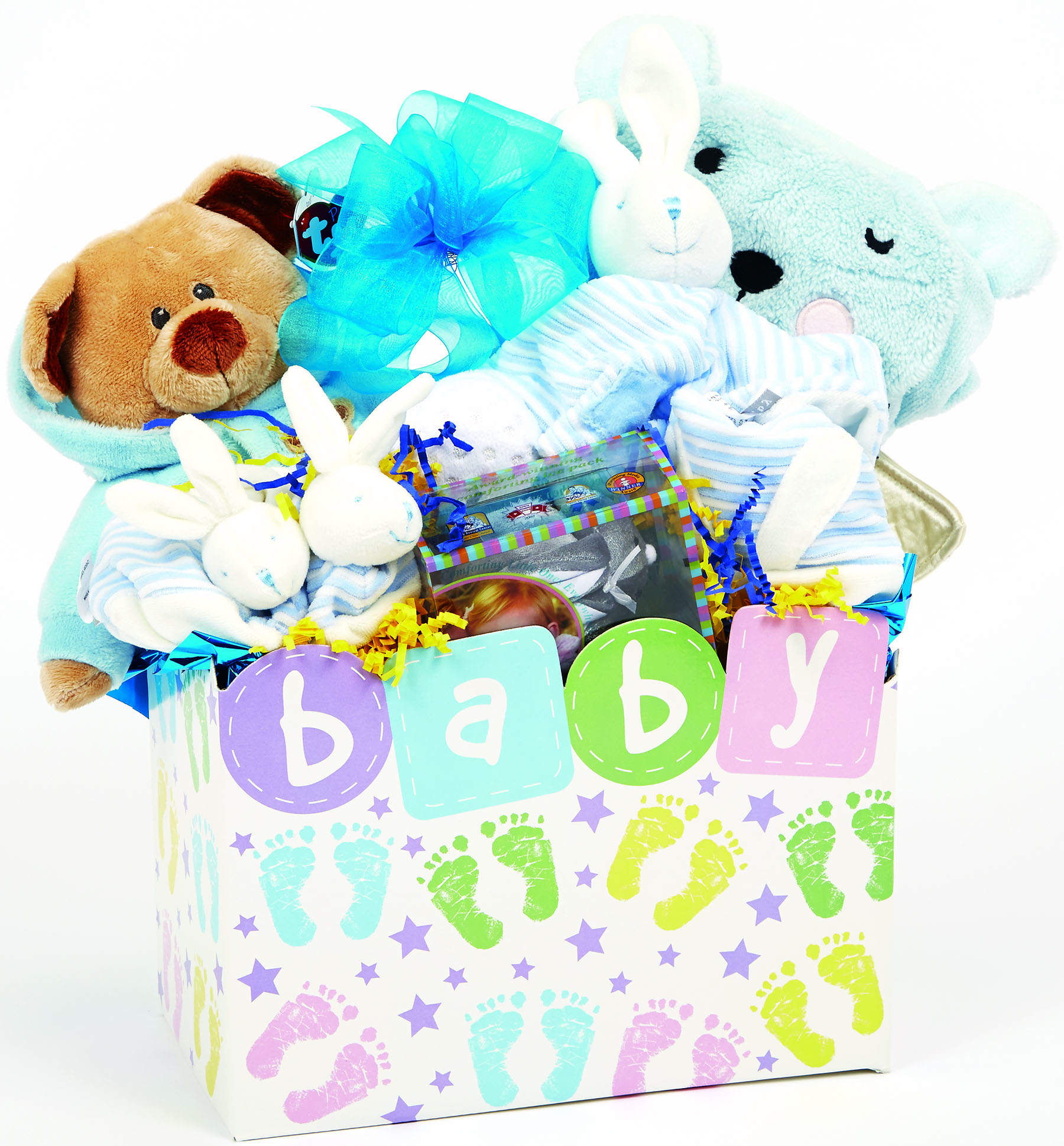 Precious Bundle Baby Gift Basket