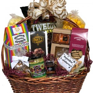 abundance of treats gift basket