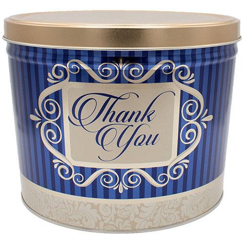 Thank You Popcorn Tin
