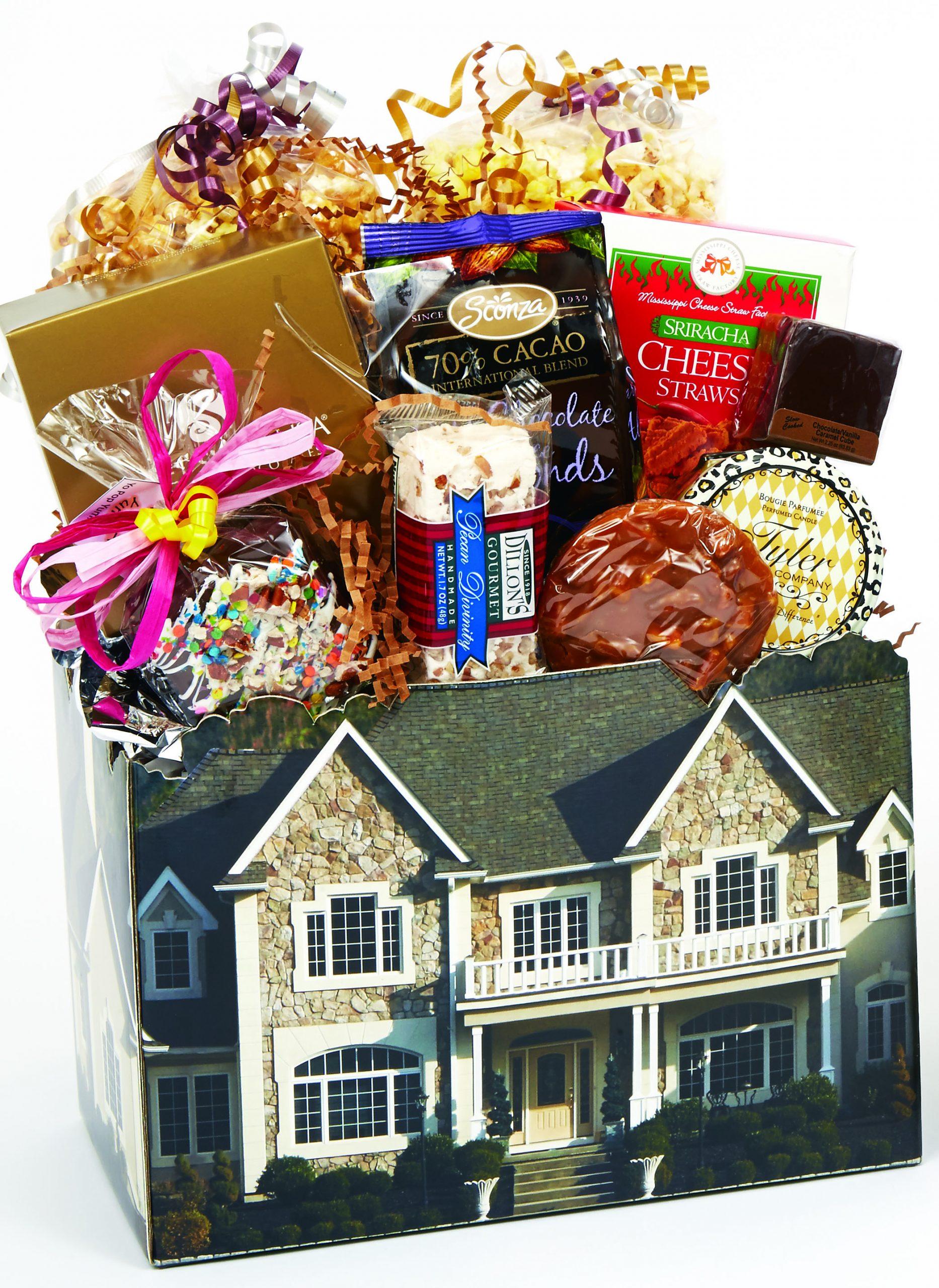 Home Bound Housewarming Gift Basket