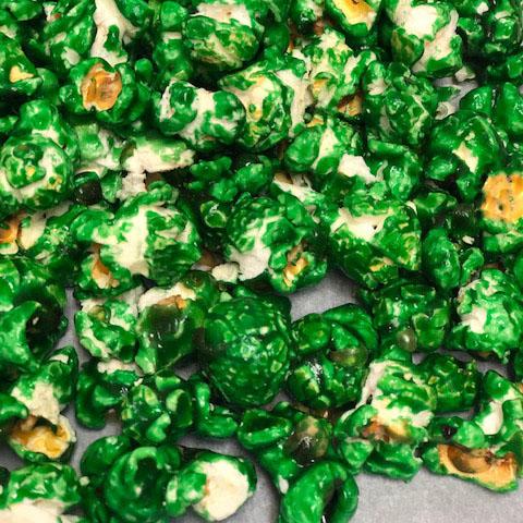 Pistachio Flavored Popcorn