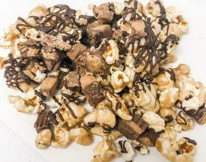reeses caramel chocolate popcorn