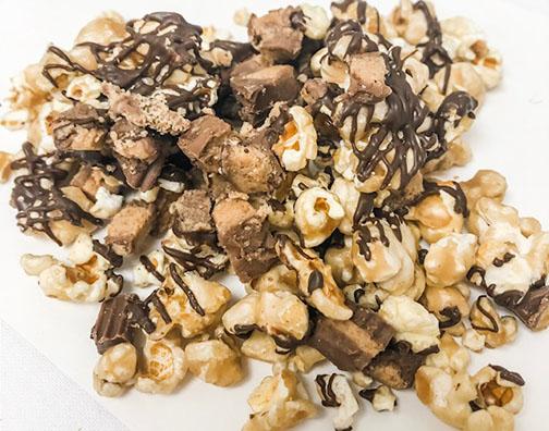 Reese's Caramel Chocolate Popcorn
