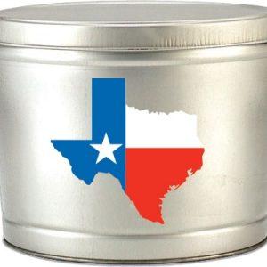 Texas Popcorn Tin