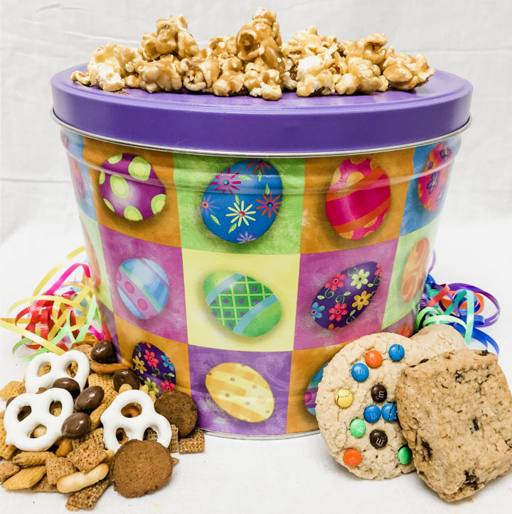 Easter Snack Treat Tin