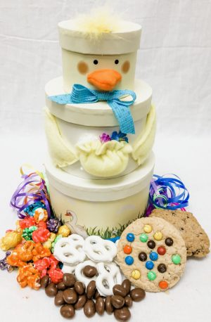 chickity chick gift stack