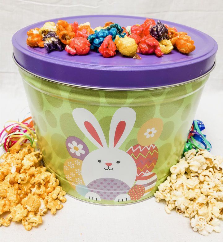 Easter Popcorn Tin