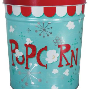 6 gallon popcorn tin
