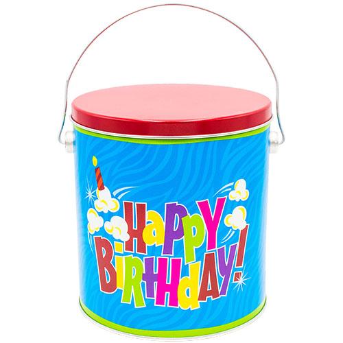 1 Gallon Birthday Pop Tin