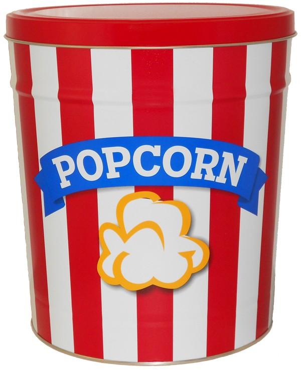 Popcorn Tin 3 Gallon