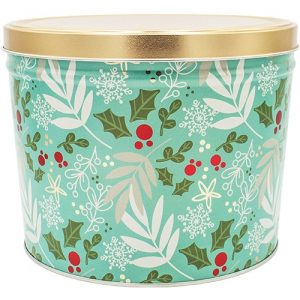 winters charm popcorn tin 2 gallon