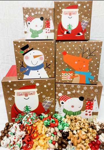 Snowy Friends Gift Boxes