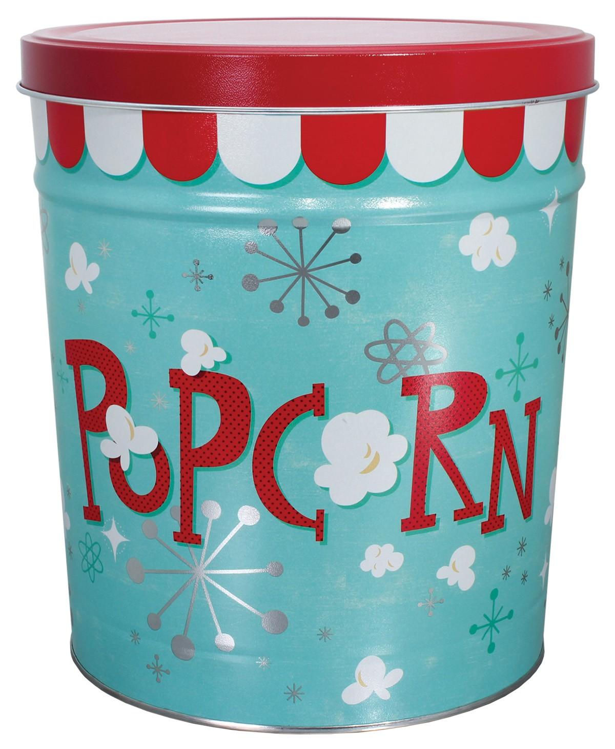 Popcorn Blast Popcorn Tin – 3.5 Gallon