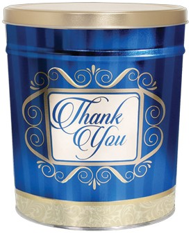 Thank You Popcorn Tin – 3.5 Gallon