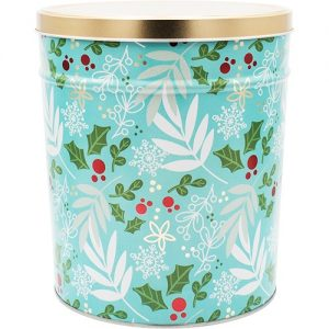winters charm popcorn tin 3 gallon