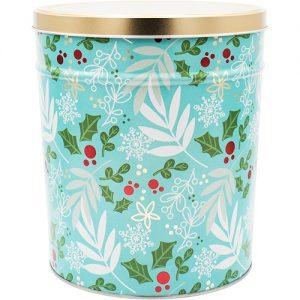 winters charm popcorn tin 3 gallon
