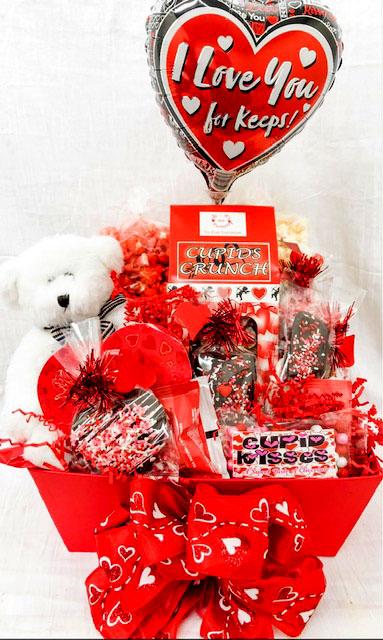 For Keeps Valentine Gift Basket