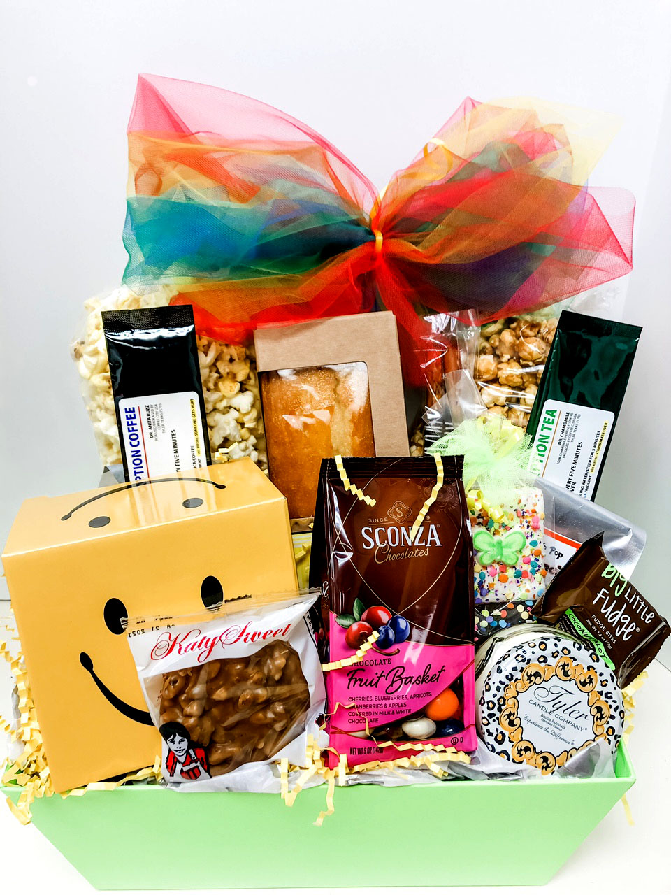 Sending Get Well Wishes Gift Basket